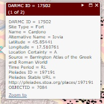DARMC data summary